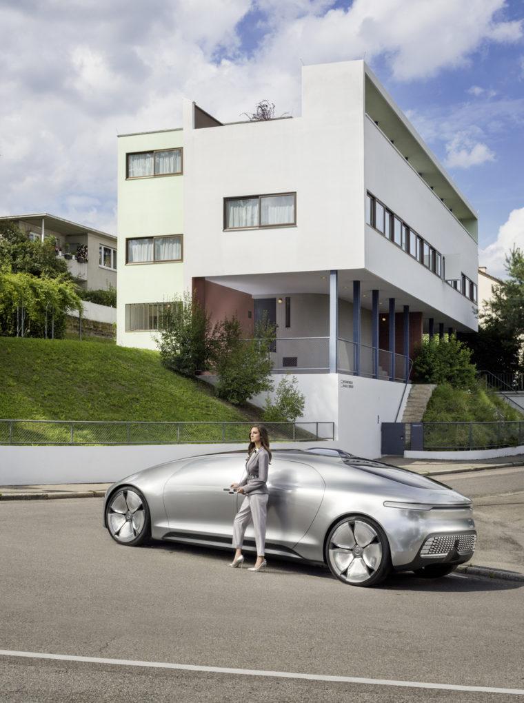 Weissenhof, Le Corbusier, Mercedes-Benz F 015 015